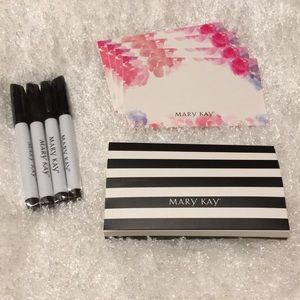 Mary Kay markers and note set